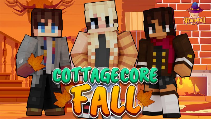 Cottagecore Fall on the Minecraft Marketplace by Magefall