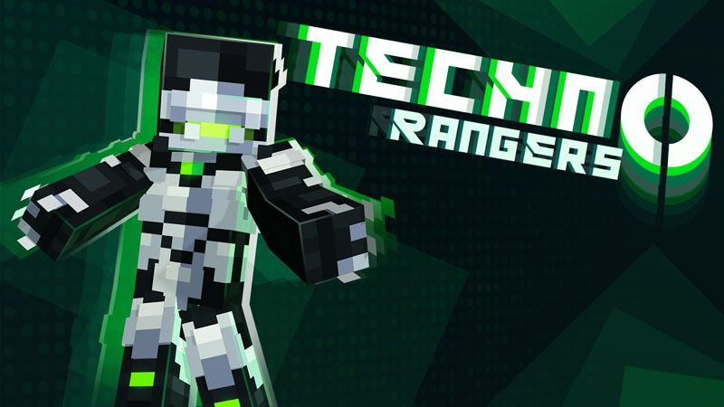 Techno Rangers Skin Pack on the Minecraft Marketplace by Ninja Squirrel Gaming