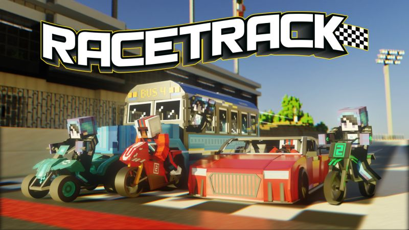 Racetrack on the Minecraft Marketplace by CubeCraft Games