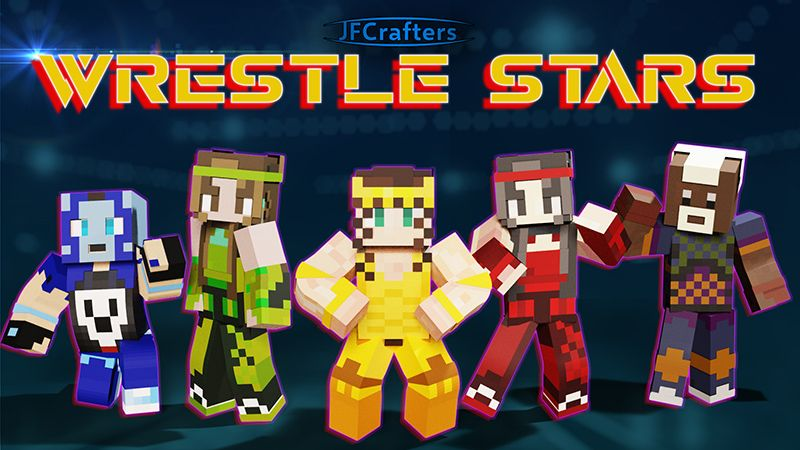 Wrestle Stars on the Minecraft Marketplace by JFCrafters