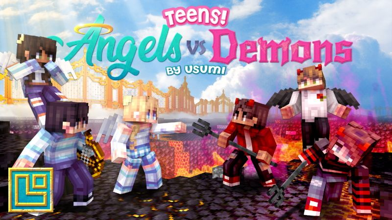 Teens Angels vs Demons on the Minecraft Marketplace by Pixel Squared