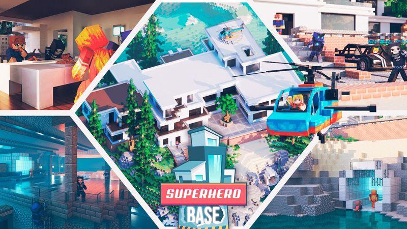 Superhero Base on the Minecraft Marketplace by Odyssey Builds