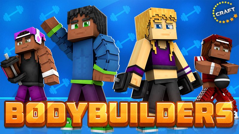 Bodybuilders on the Minecraft Marketplace by The Craft Stars