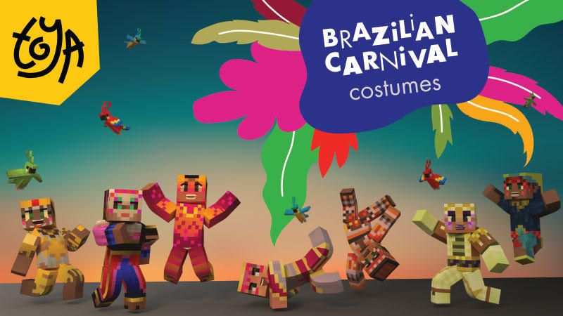 Brazilian Carnival Costumes on the Minecraft Marketplace by Toya