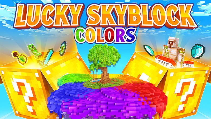 Lucky Skyblock Colors on the Minecraft Marketplace by Norvale