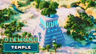 Diamond Temple on the Minecraft Marketplace by Odyssey Builds