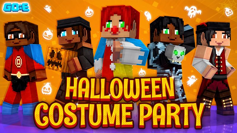 Halloween Costume Party on the Minecraft Marketplace by GoE-Craft