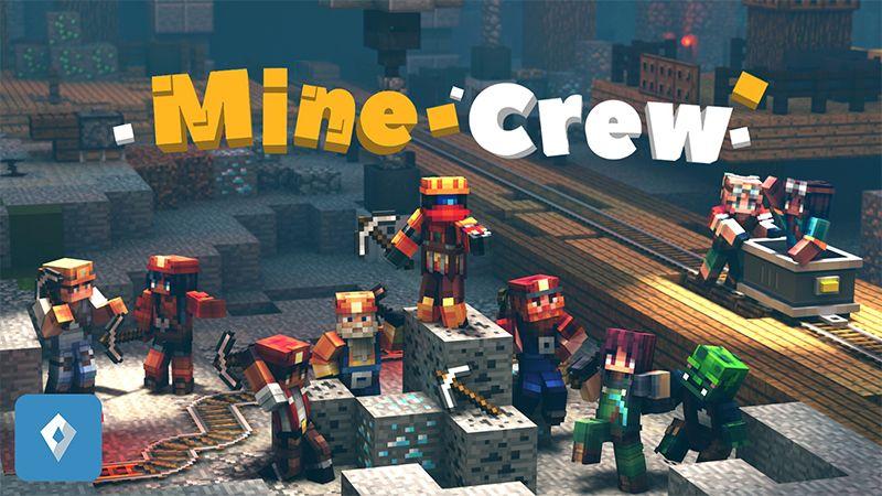 Mine Crew on the Minecraft Marketplace by Sapphire Studios