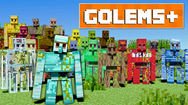 Golems on the Minecraft Marketplace by Lifeboat