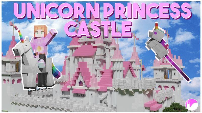 Unicorn Princess Castle on the Minecraft Marketplace by Snail Studios