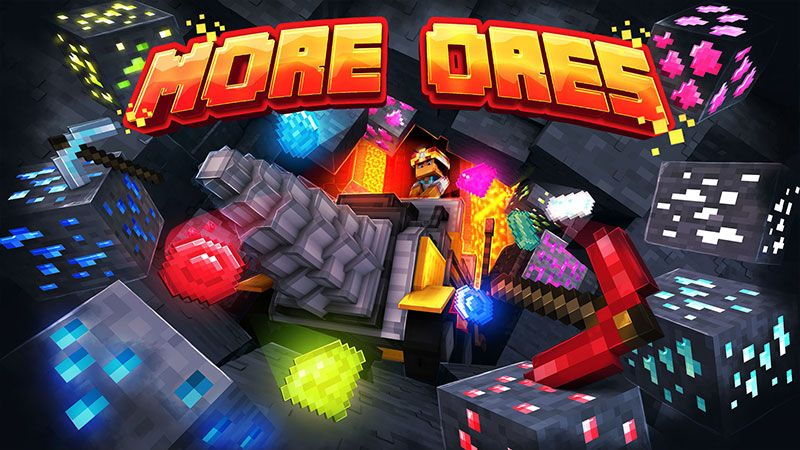 More Ores on the Minecraft Marketplace by Volcano
