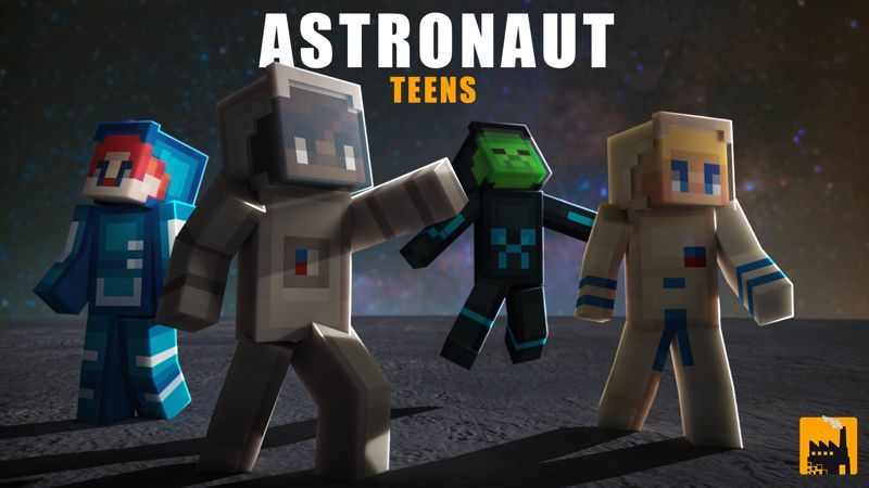 Astronaut Teens on the Minecraft Marketplace by Block Factory
