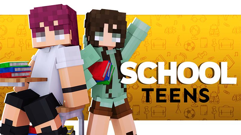 School Teens on the Minecraft Marketplace by Pickaxe Studios