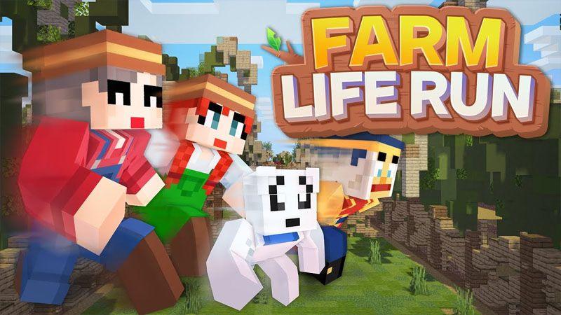 Farm Life Run on the Minecraft Marketplace by Sandbox Network