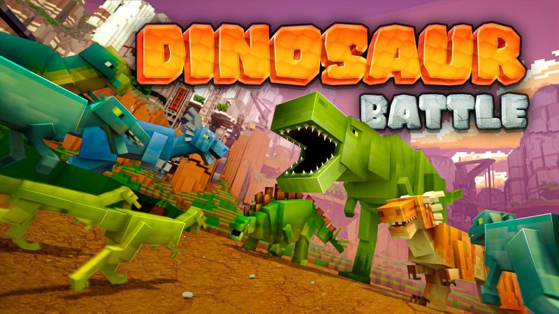 Dinosaur Battle on the Minecraft Marketplace by Shapescape