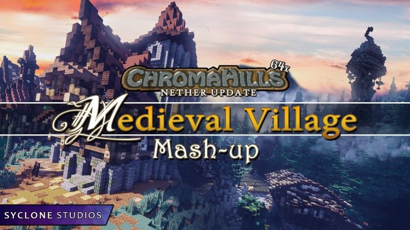 Chroma Hills Medieval Village on the Minecraft Marketplace by Syclone Studios