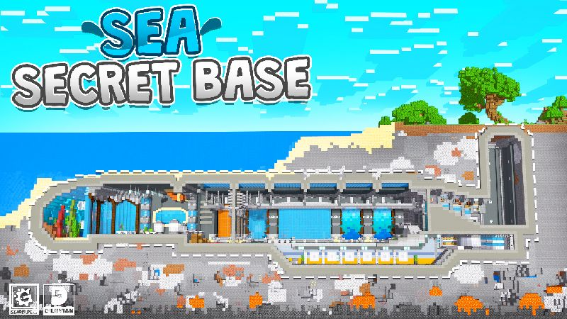 Sea Secret Base on the Minecraft Marketplace by Gearblocks