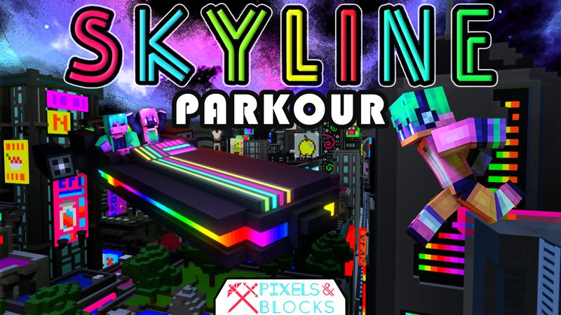 Skyline  Parkour  Roleplay on the Minecraft Marketplace by Pixels & Blocks
