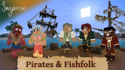 Pirates and Fishfolk on the Minecraft Marketplace by Imagiverse