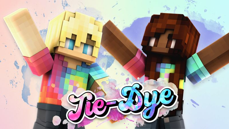 Tie Dye on the Minecraft Marketplace by Impulse