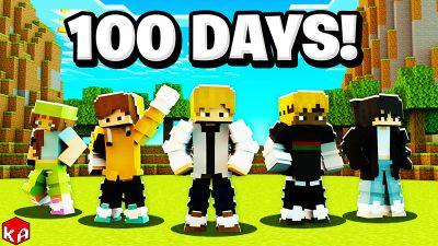 100 Days Survivors on the Minecraft Marketplace by KA Studios