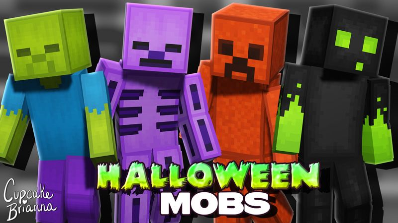 Halloween Mobs HD Skin Pack on the Minecraft Marketplace by CupcakeBrianna