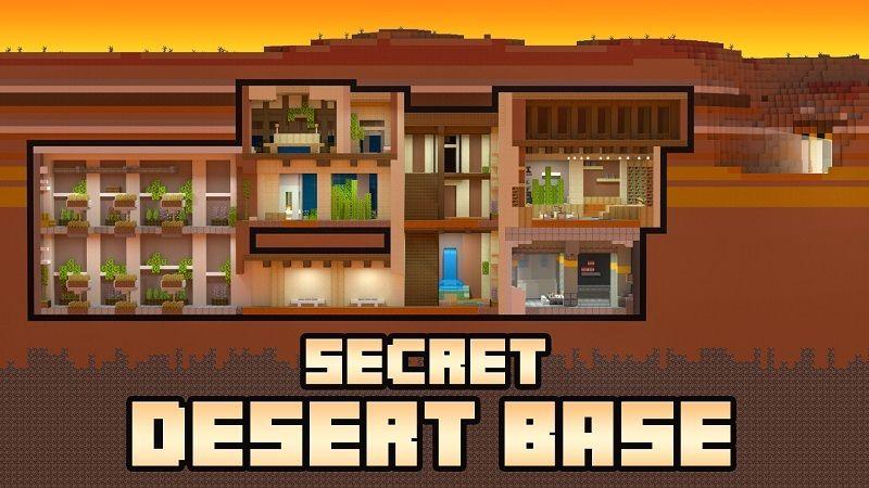 Secret Desert Base on the Minecraft Marketplace by BBB Studios