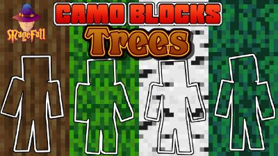 Camo Blocks Trees on the Minecraft Marketplace by Magefall