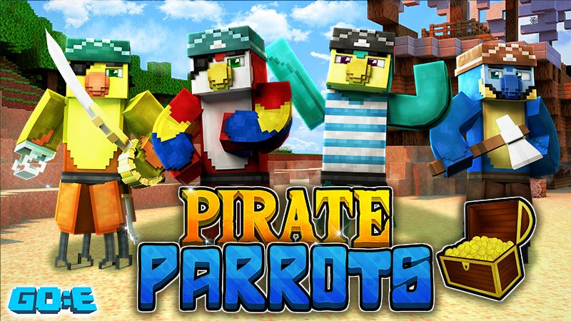 Pirate Parrots on the Minecraft Marketplace by GoE-Craft