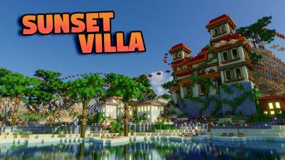 Sunset Villa on the Minecraft Marketplace by BLOCKLAB Studios