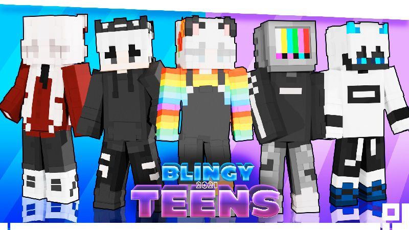 Blingy Teens 2021 on the Minecraft Marketplace by inPixel