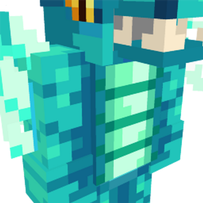 Ice Dragon Suit on the Minecraft Marketplace by Spectral Studios