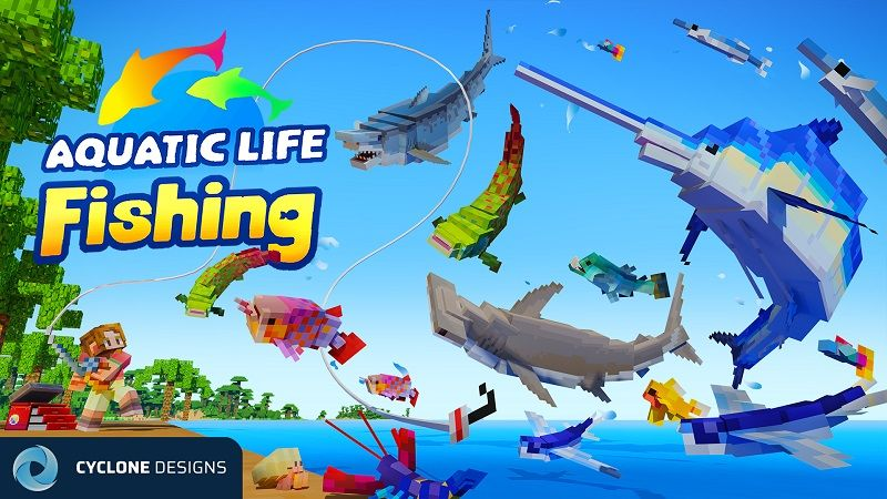 Aquatic Life Fishing on the Minecraft Marketplace by Cyclone