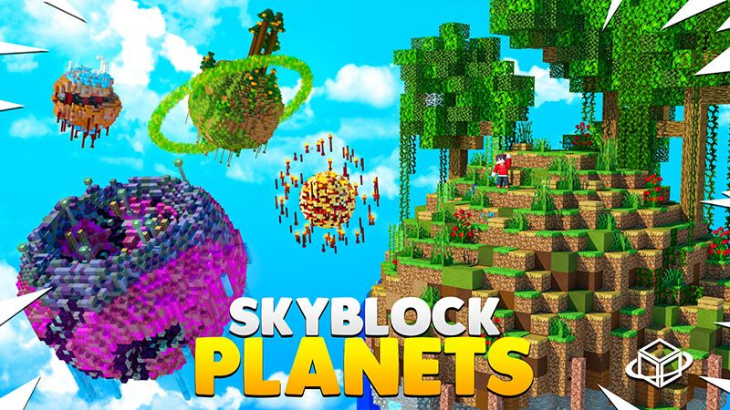 Skyblock Planets on the Minecraft Marketplace by 4KS Studios