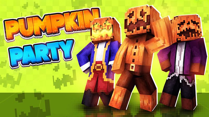 Pumpkin Party on the Minecraft Marketplace by The Lucky Petals