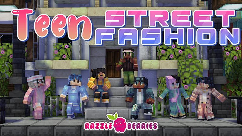 Teen Street Fashion on the Minecraft Marketplace by Razzleberries