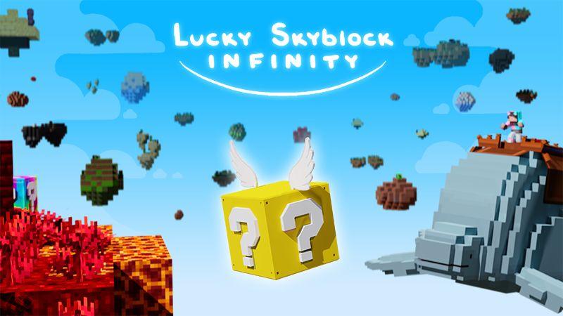 Lucky Skyblock Infinity on the Minecraft Marketplace by Tetrascape