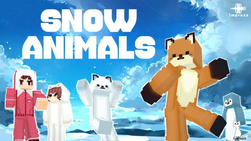 Snow Animals HD on the Minecraft Marketplace by Impress