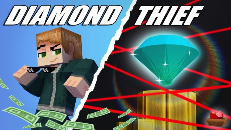 Diamond Thief on the Minecraft Marketplace by Lifeboat