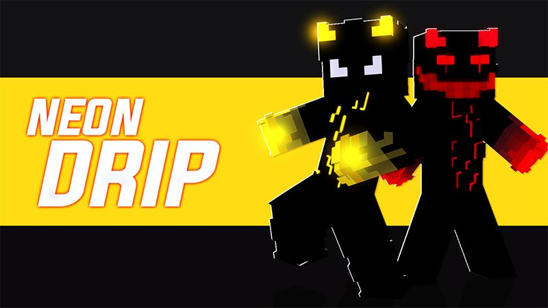 NEON DRIP on the Minecraft Marketplace by Pickaxe Studios