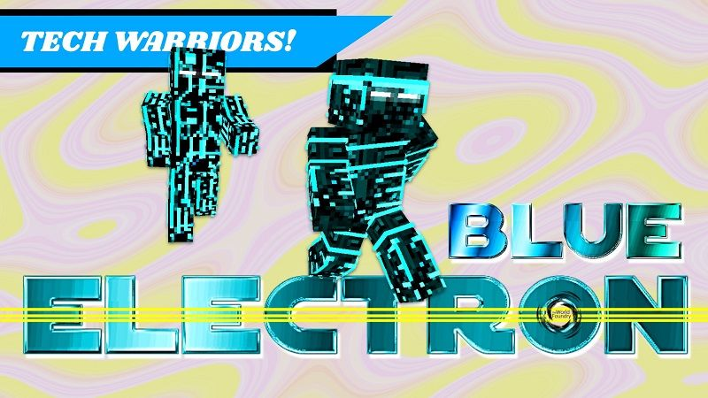 Electron Blue on the Minecraft Marketplace by The World Foundry