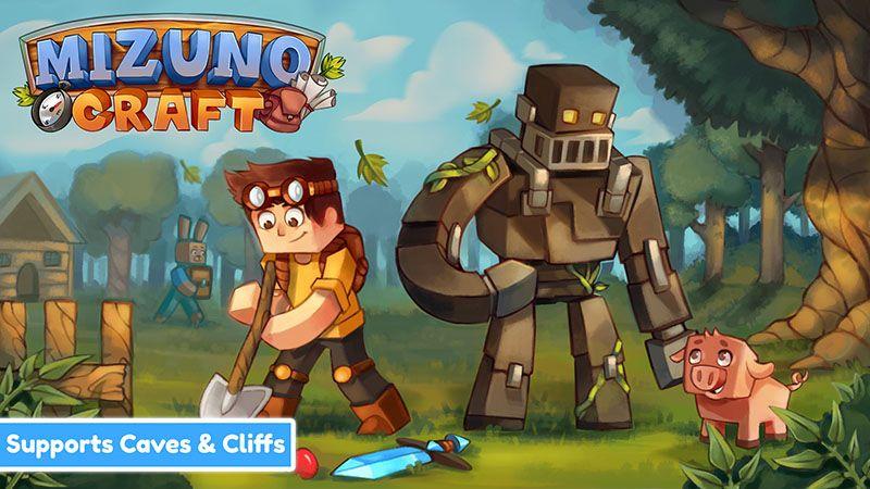 Mizuno Craft on the Minecraft Marketplace by CubeCraft Games
