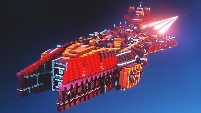 Ultimate Spaceship Base on the Minecraft Marketplace by Vertexcubed