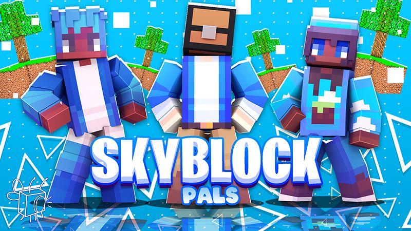 SkyBlock Pals on the Minecraft Marketplace by Blu Shutter Bug