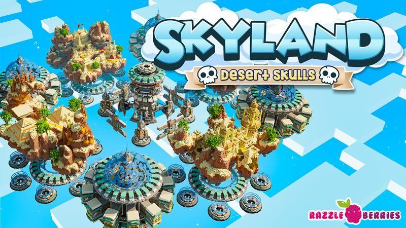 Skyland Desert Skulls on the Minecraft Marketplace by Razzleberries