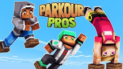Parkour Pros on the Minecraft Marketplace by 57Digital