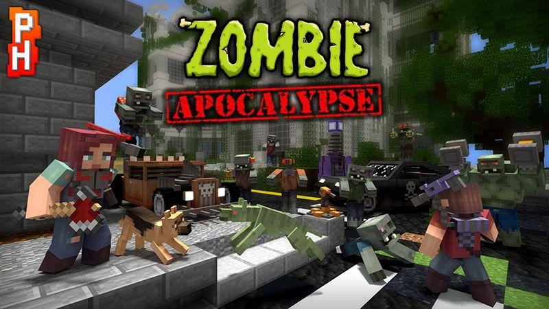 Zombie Apocalypse on the Minecraft Marketplace by PixelHeads