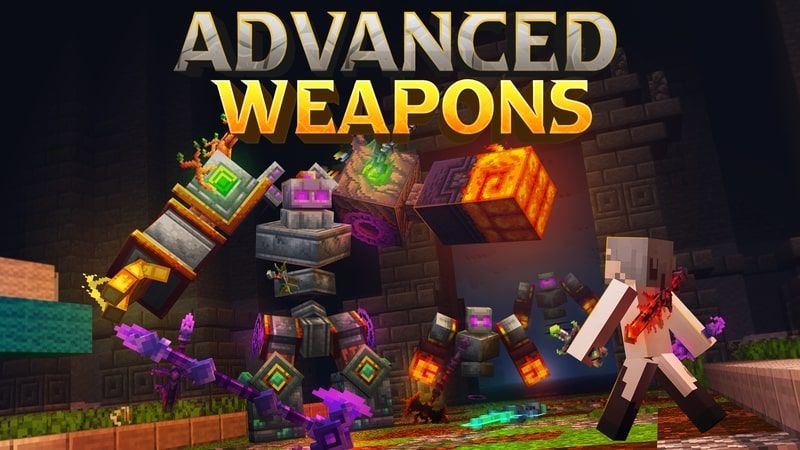 Advanced Weapons on the Minecraft Marketplace by Kubo Studios