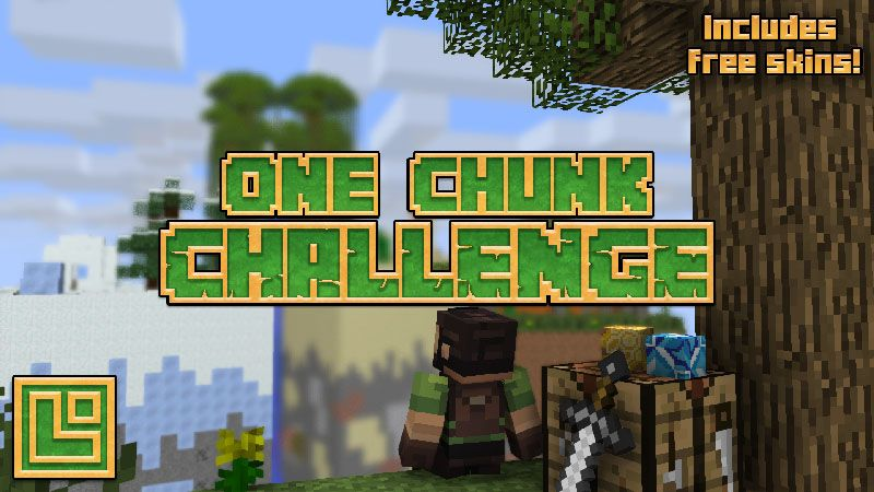 One Chunk Challenge on the Minecraft Marketplace by Pixel Squared