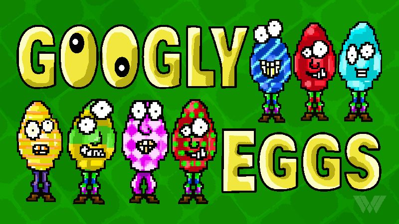 Googly Eggs on the Minecraft Marketplace by Wandering Wizards